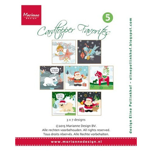 Marianne D Card Toppers Favorites - Eline CT1505 (New 09-15)