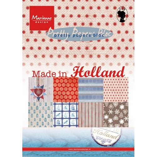 Marianne D Paper pad Made in Holland PK9126 (New 09-15)