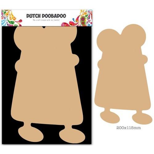 Dutch Doobadoo Dutch MDF art - Monster 1 200x115x3mm 460.440.021 (09-15)