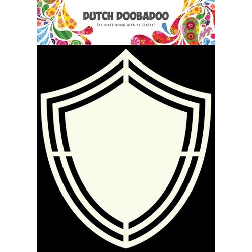 Dutch Doobadoo Dutch Shape Art Schild  A4 470.713.119 (new 09-15)