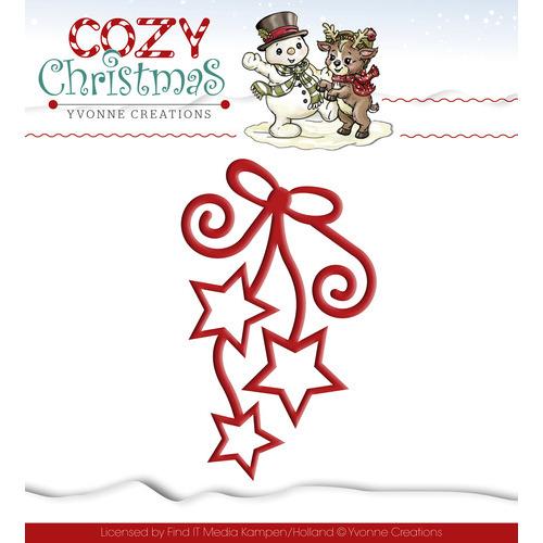 Die - Yvonne Creations - Cozy Christmas - Hanging Stars