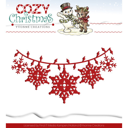 Die - Yvonne Creations - Cozy Christmas - Christmas Lights
