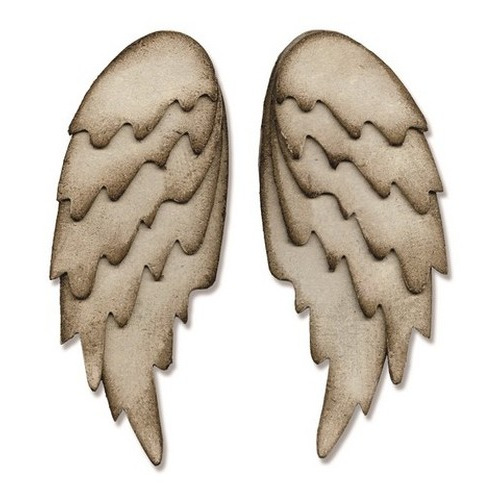 Sizzix® Bigz™ L Die - Feathered Wings 660990 Tim Holtz - (new 09-15)