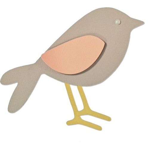 Sizzix® Bigz™ Die - Garden Bird 660873 My Kind of Happy (09-15)