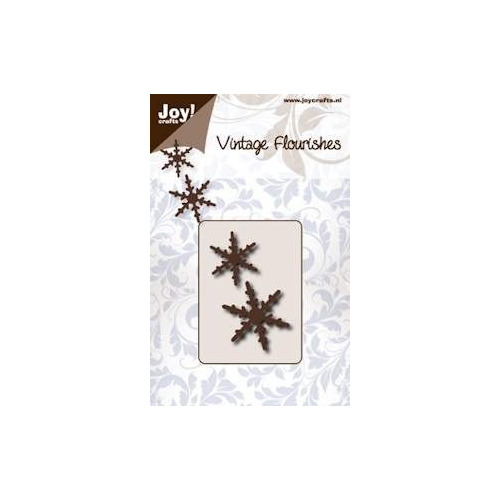 Joy! crafts - Die - Cutting - Vintage Flourishes - Snowflake