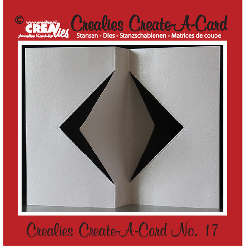 Crealies Create A Card no. 17 stans voor kaart CCAC17