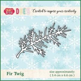 Christmas Dies Metal die Fir Twig