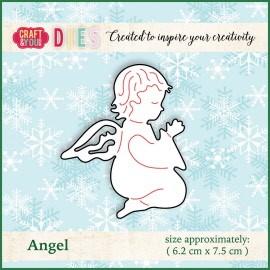Christmas Dies Metal die Angel