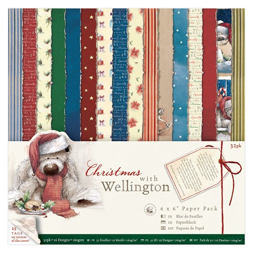6 x 6 Paper Pack (32pk) - Wellington - Christmas