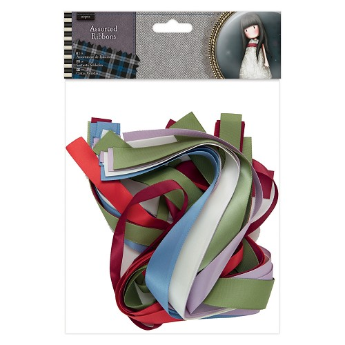 Assorted Ribbon (20pcs) - Santoro Tweed