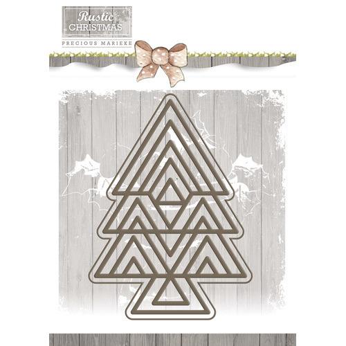 Die - Precious Marieke - Rustic Christmas - Rustic Three