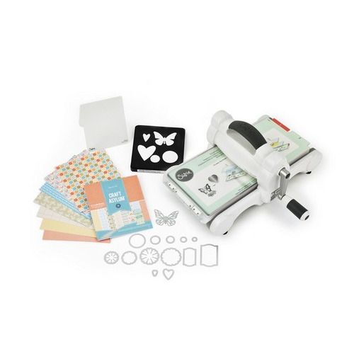 Sizzix Big Shot Starter Kit White & Grey 659765