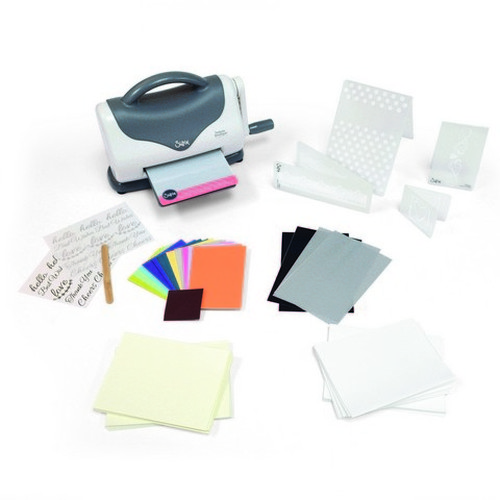 Sizzix Texture Boutique starter kit White & Grey 661161