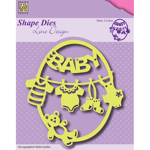 Shape Dies - Frame Baby-clothes-bear