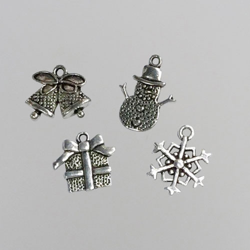 Metal Charms - Christmas