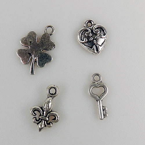 Metal Charms - Good luck