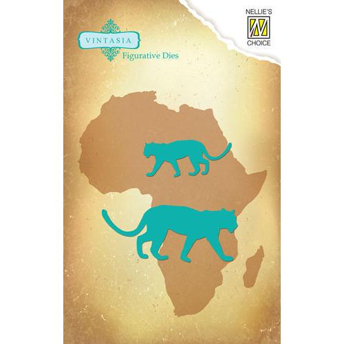 Vintasia Die - Big-Five serie African Leopard