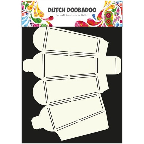 Dutch Doobadoo Dutch Box Art stencil traktatie doos A4 470.713.015 (new 10-2015)