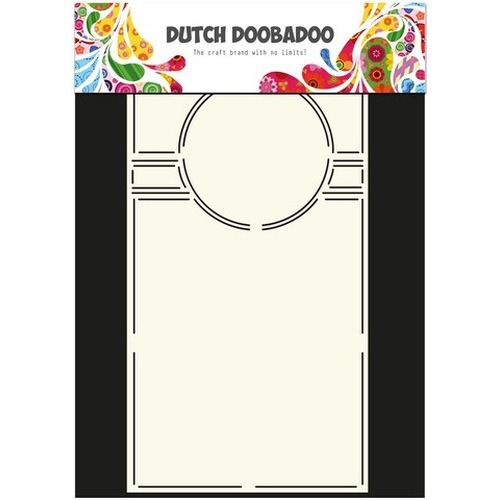 Dutch Doobadoo Dutch Card Art Stencil Swing cirkel 29x14,5mm 470.713.301 (new 10-2015)