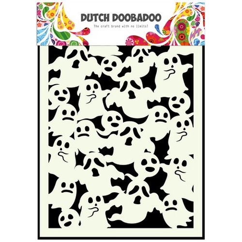 Dutch Doobadoo Dutch Mask Art stencil Spoken A5 470.715.044 (new 10-15)