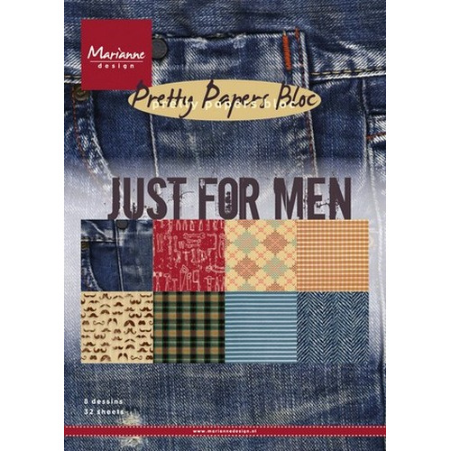 Marianne D Paper pad Just for men PK9129 (New 11-15)