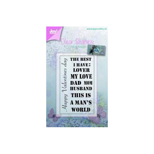 Joy! crafts - Clearstamp - Tekst - The best I have (ENG)