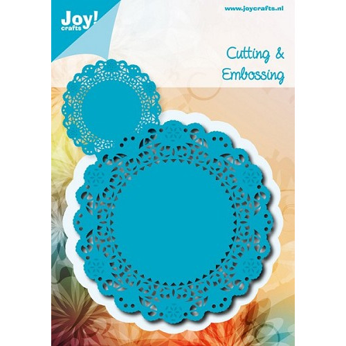 Joy! crafts - Die - Noor! Design - Cutting & Embossing - Doily rond