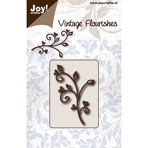Joy! crafts - Die - Vintage Flourishes - Swirl Twigs