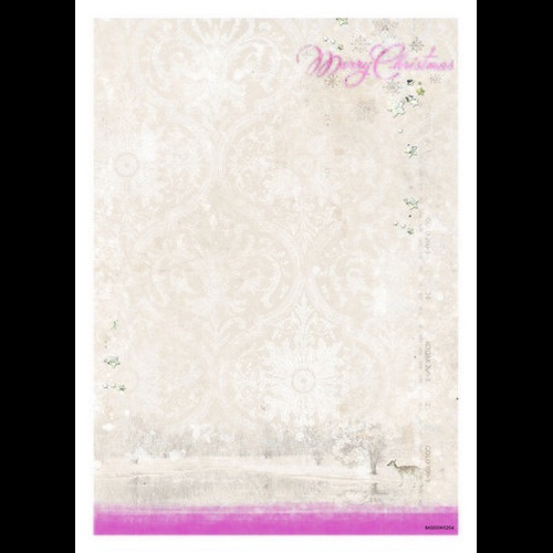 Studio Light Achtergrondpapier 1vel A4 Sweet Winter 204 BASISSWS204 (new 10-15)