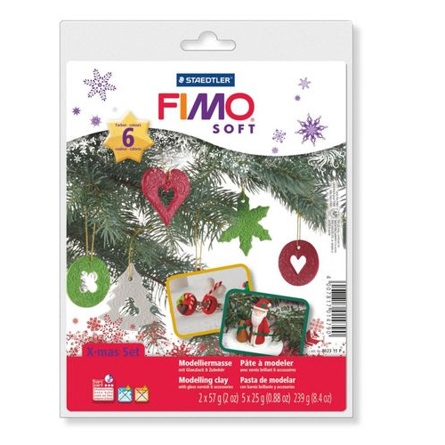 Fimo Soft Kerstmis Decoratieset 8023 11 P