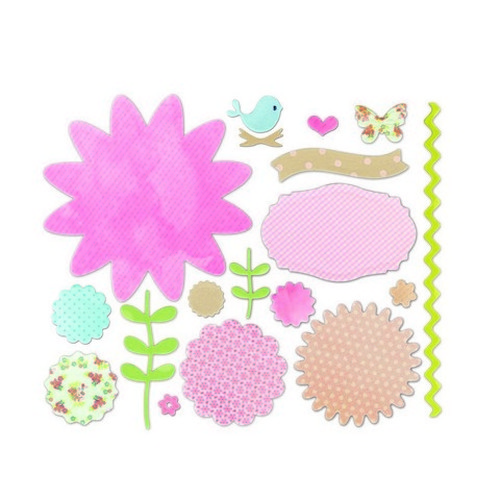 Sizzix® Thinlits™ Die Set 18PK - Secret Garden by Brenda Walt 660694 Favorite Things  (new 10-15)
