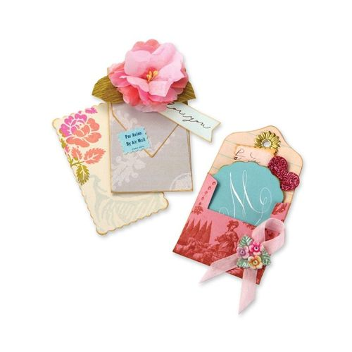Sizzix® Bigz™ L Die - Inserts & Envelopes, Mini by Brenda Wal 660699 Favorite Things  (new 10-15)