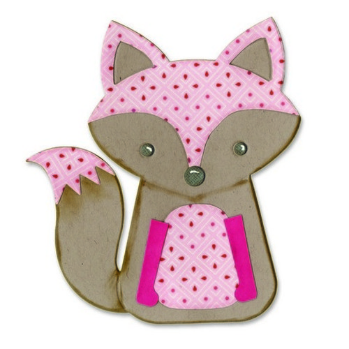 Sizzix® Bigz™ Die - Fox #2 by Lori Whitlock 660774 Lori Whitlock  (new 11-15)