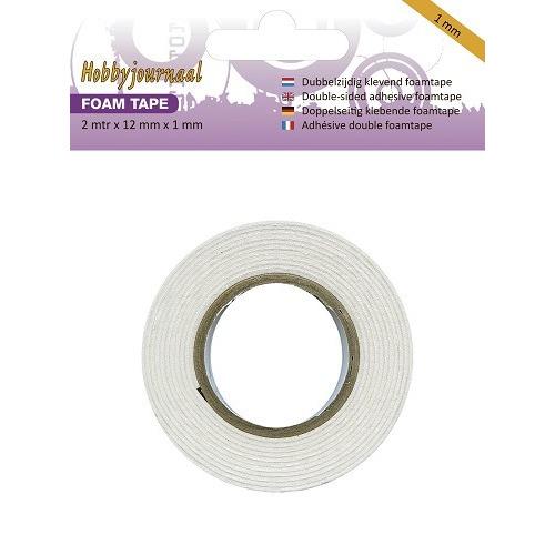 Hobbyjournaal - Foam tape - 1 mm