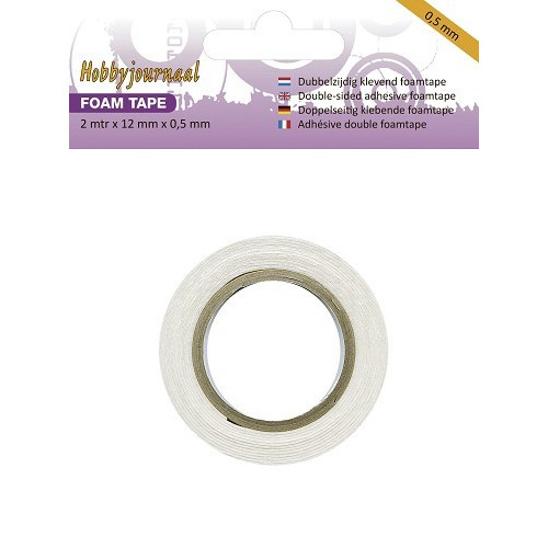 Hobbyjournaal - Foam tape - 0.5 mm