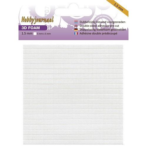 Hobbyjournaal - Foam blokje - 1.5 mm