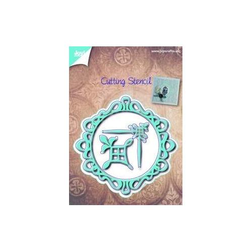 Joy! crafts - Die - Cutting - Cirkel - Rand - Hoek