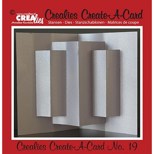 Crealies Create A Card no. 19 stans voor kaart 14,5 x 21 cm / CCAC19