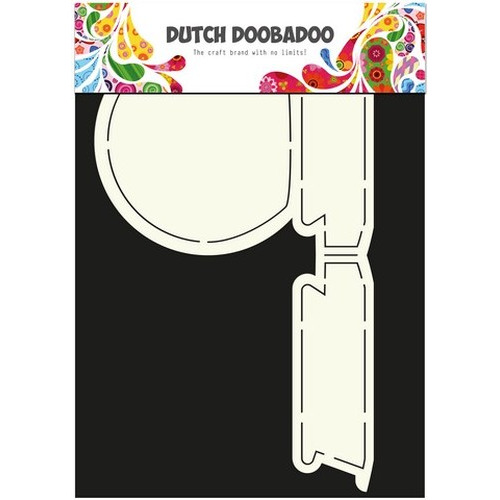 Dutch Doobadoo Dutch Card Art stencil sneeuwbol A4 470.713.591