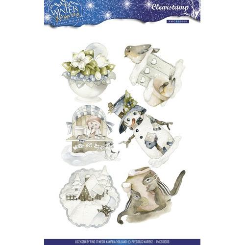 Clearstamp -  Precious Marieke - Winter Wonderland
