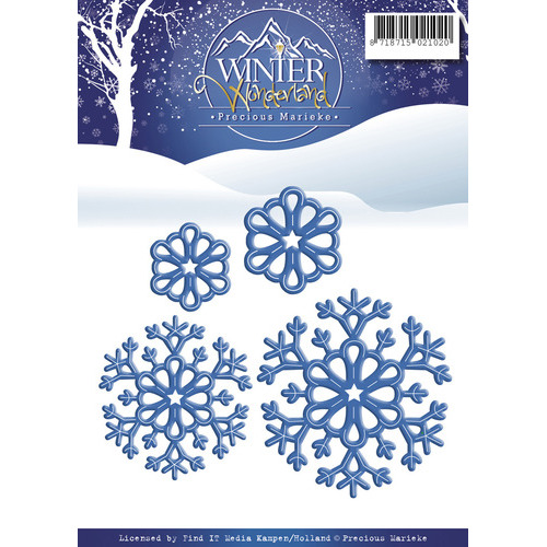Die - Precious Marieke - Winter Wonderland - Snowflakes
