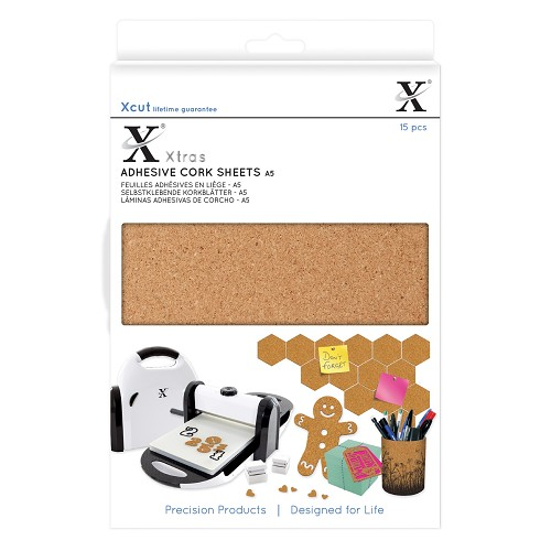 Xtra A5 Adhesive Cork  Sheets (15pcs)