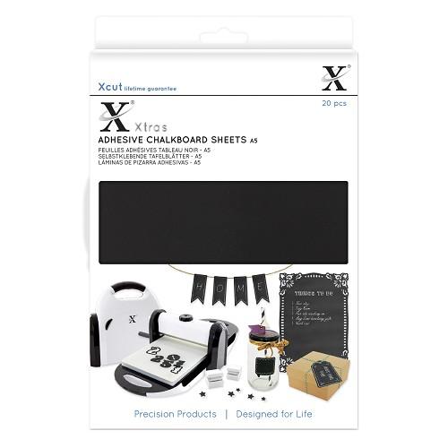Xtra A5 Adhesive Chalkboard Sheets (20pcs)