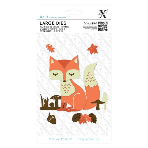 Large Dies (21pcs) - Layered Fox