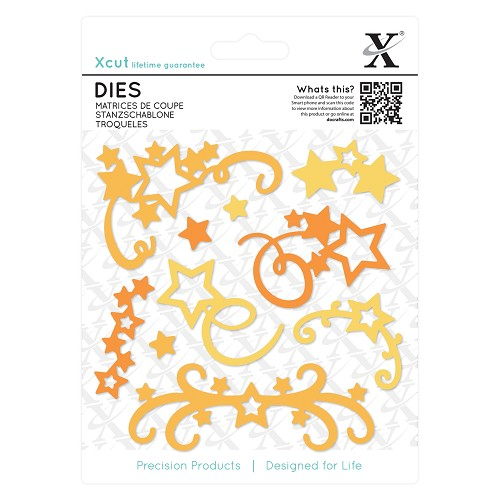 Dies (10pcs) - Star Flourish