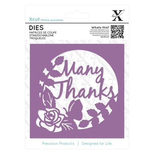 Dies (1pc) - Many Thanks Topper