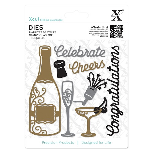Dies (10pcs) - Champagne Celebration