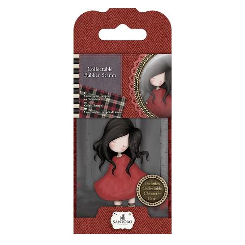 Mini Rubber Stamp - Santoro - No. 18 Poppy Wood