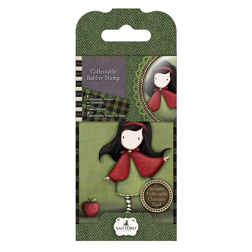 Mini Rubber Stamp - Santoro - No. 14 Little Red