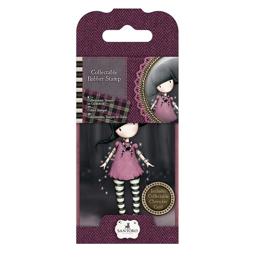 Mini Rubber Stamp - Santoro - No. 13 Fairy Lights